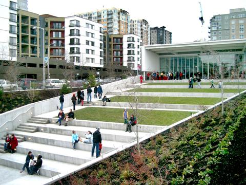Seattle Olympic Sculpture Park Public Space Design