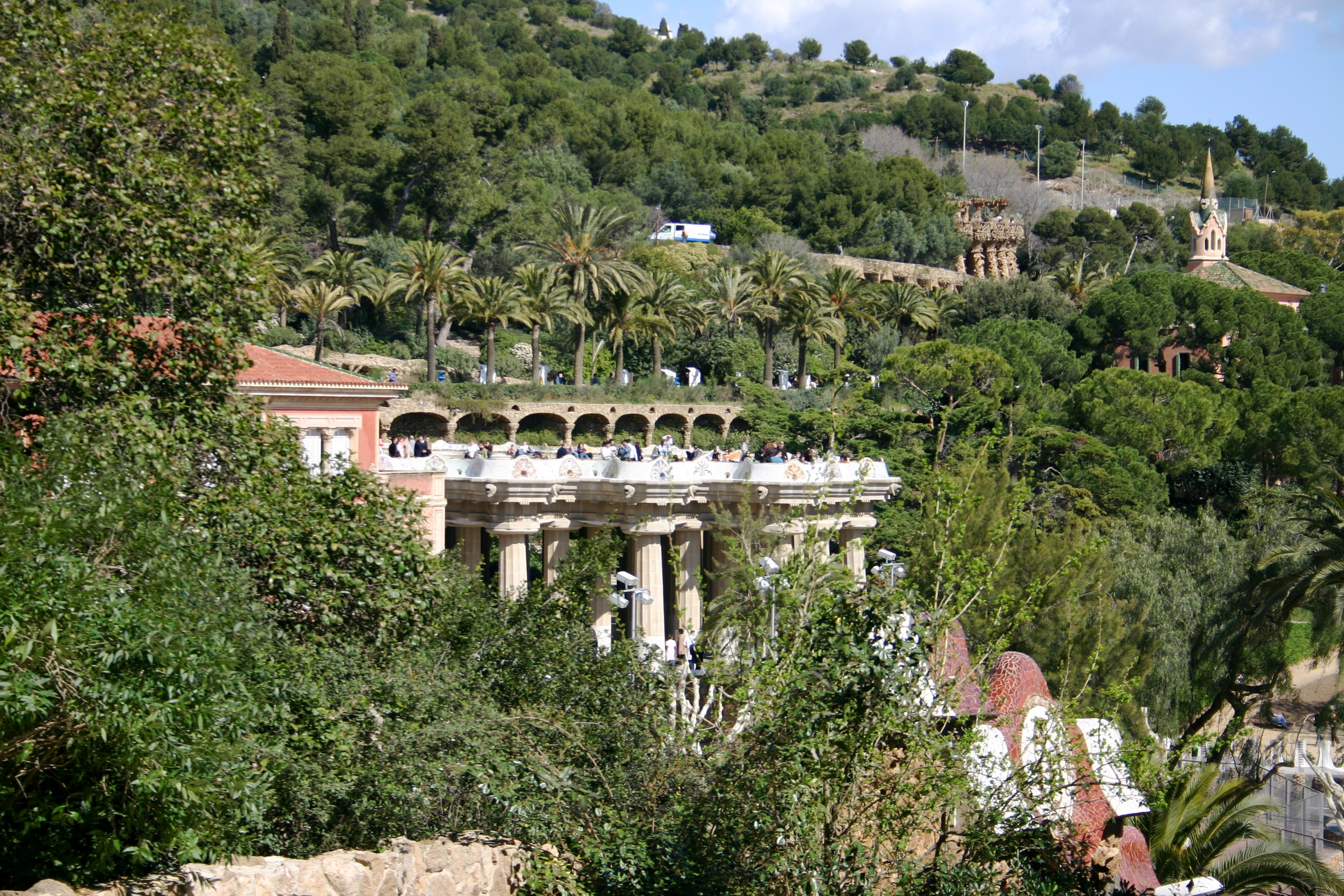 The World's Greatest Urban Parks: Park Güell, Barcelona, Spain  IDEAS INSPIR...