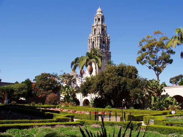 The attractions of balboa park in san diego