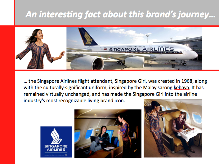 Fascinating Brand Stories | Singapore Airlines | IDEAS INSPIRING ...