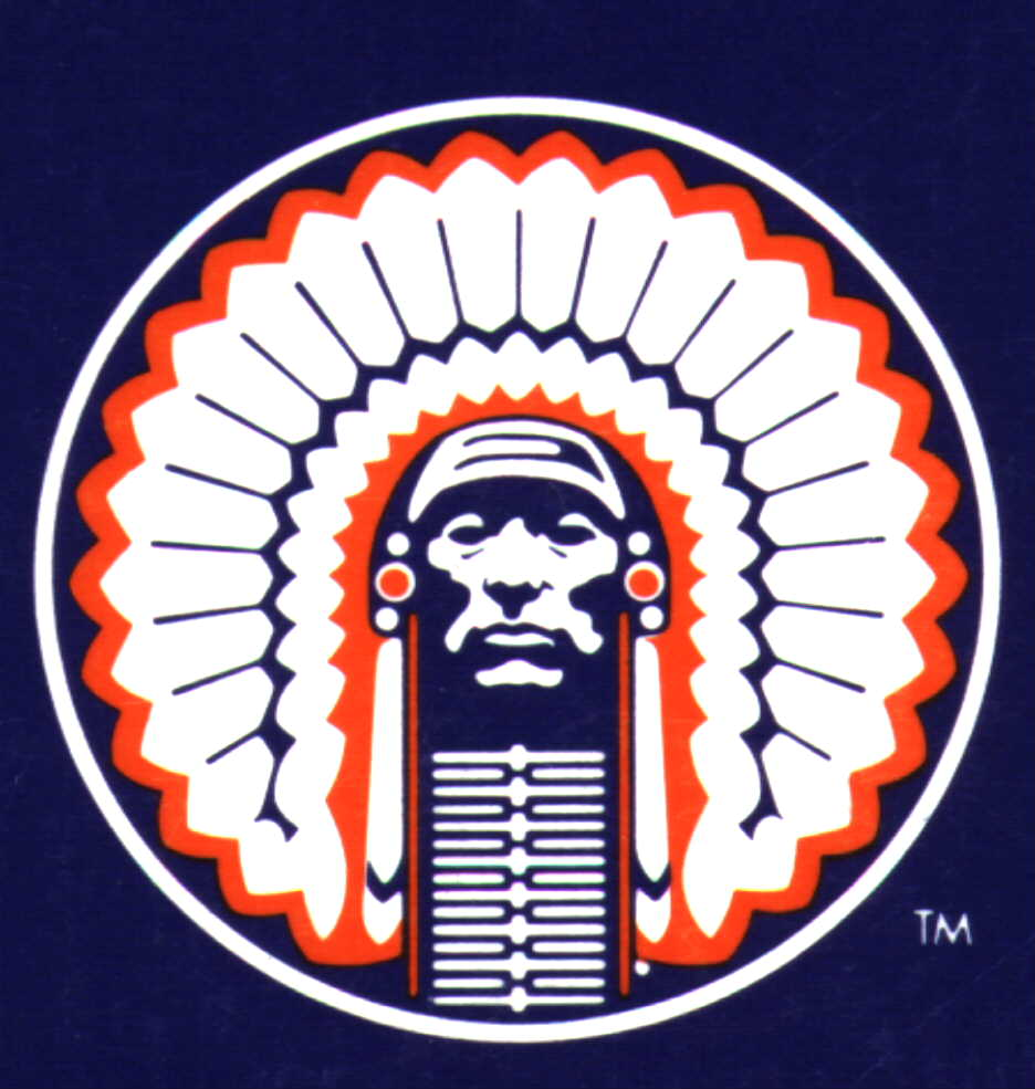 logo   corporate identity separated at birth  all indian chief logo 1903 indian chief logo design